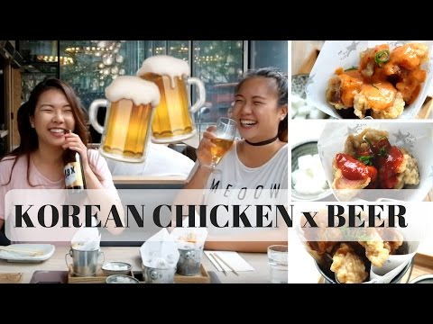 IS KOREAN CHICKEN AND BEER WORTH THE HYPE?!