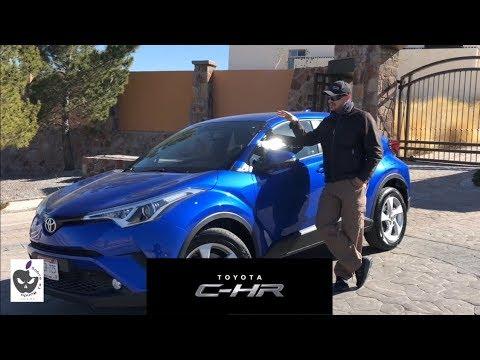 Toyota CHR 2018 en Mexico