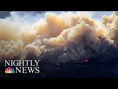 Massive Wildfires Continue To Threaten California | NBC Nightly News