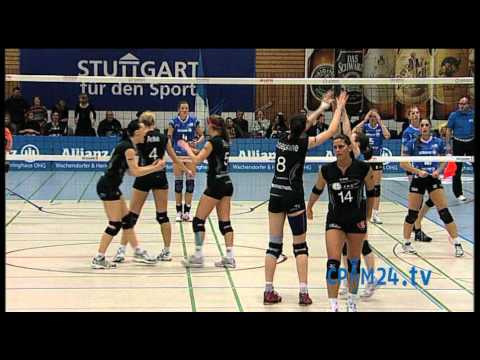 Volleyball Smart Allianz Stuttgart - VC Wiesbaden Teil 8