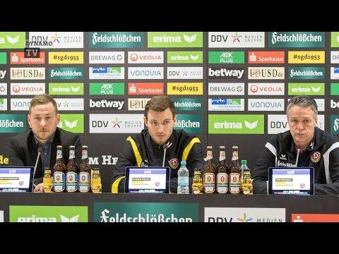 17. Spieltag | DSC - SGD | Pressekonferenz vor dem Spiel