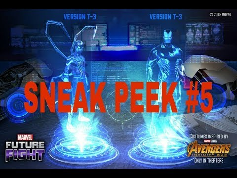 Tire-3 IRON MAN AND SPIDER MAN IN MARVEL FUTURE FIGHT GAME
