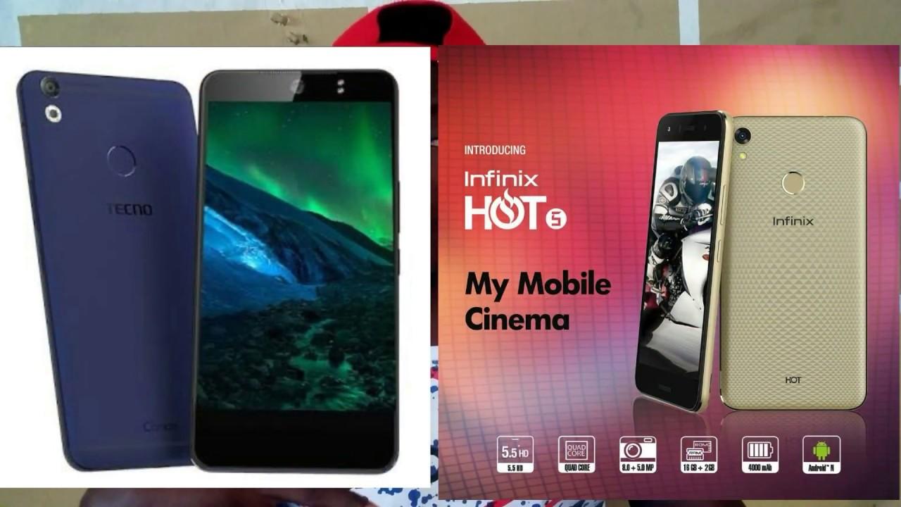 Tecno Camon Cx Air Vs Infinix Hot 5| Which should you buy?