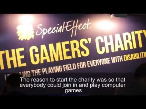 SpecialEffect Charity - gaming charity's Dr Mick Donegan, EGX 2015