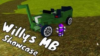 Willys MB || Plane Crazy Showcase Roblox