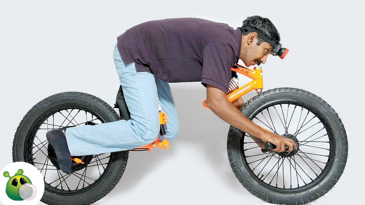Необычные Велосипеды в существование которых сложно поверить