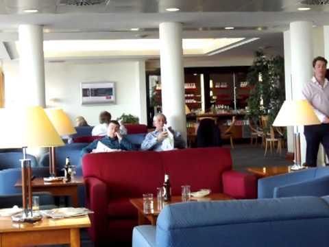 British Airways Executive Club Lounge Rome