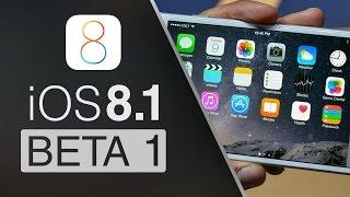 iOS 8.1 Beta 1 - TODAS LAS NOVEDADES