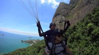 Paragliding in Rio!!!!!  The best birds eye view of Rio de Janeiro!