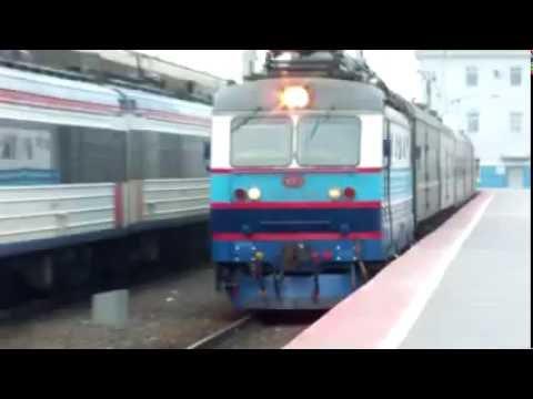 Прибытие поезда Воркута - Москва на станцию Ярославль Главный.