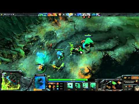 видео: Давайте играть в dota 2(let's play) part 1 - gameplay[tidehunter][radiant][720p]