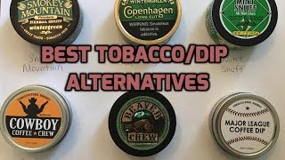 Best tobacco/Dip alternatives & how to quit!