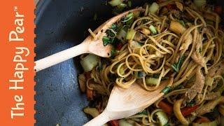 5 Minute Dinner Teriyaki Noodles