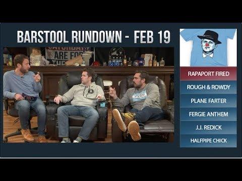 Barstool Rundown - February 19, 2018