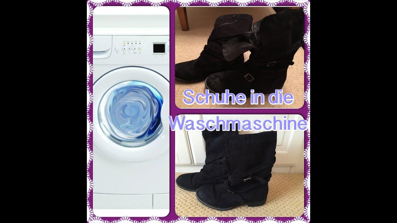 probieren wir es aus schuhe in die waschmaschine youtube. Black Bedroom Furniture Sets. Home Design Ideas