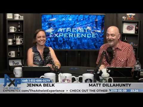 Atheist Experience 23.24 With Matt Dillahunty & Jenna Belk