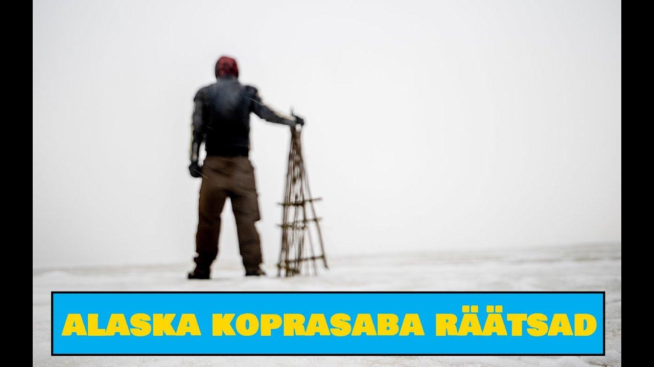 Alaskan Beaver Tail Snowshoes / Alaska koprasaba räätsad - Outdoor Camping Tools