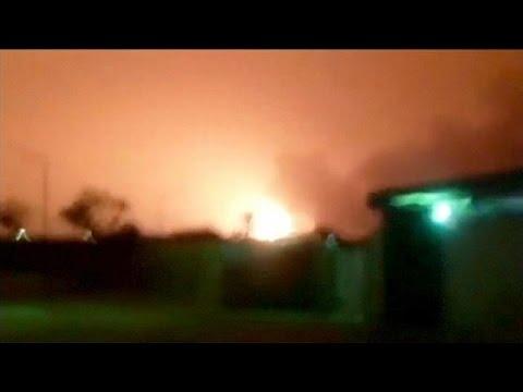 Truck bomb kills at least 12 at Libyan police training centre