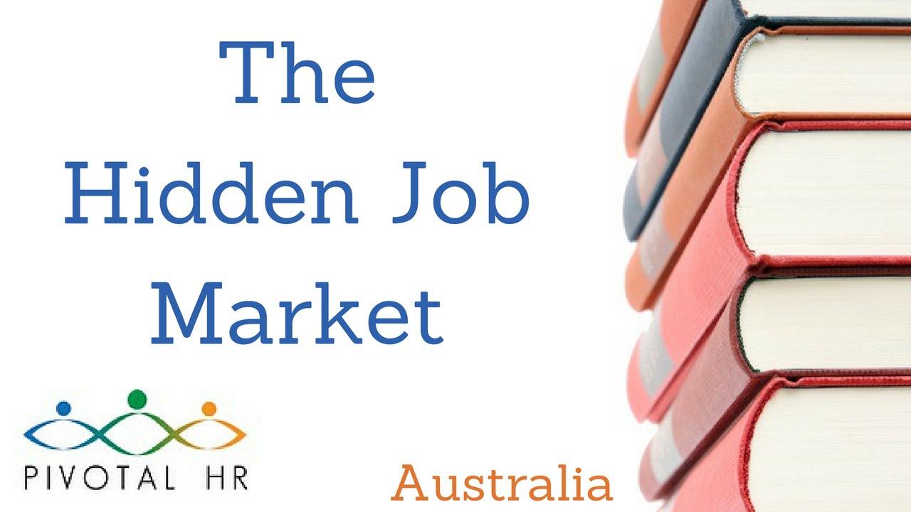 what is the hidden job market what is the hidden job market