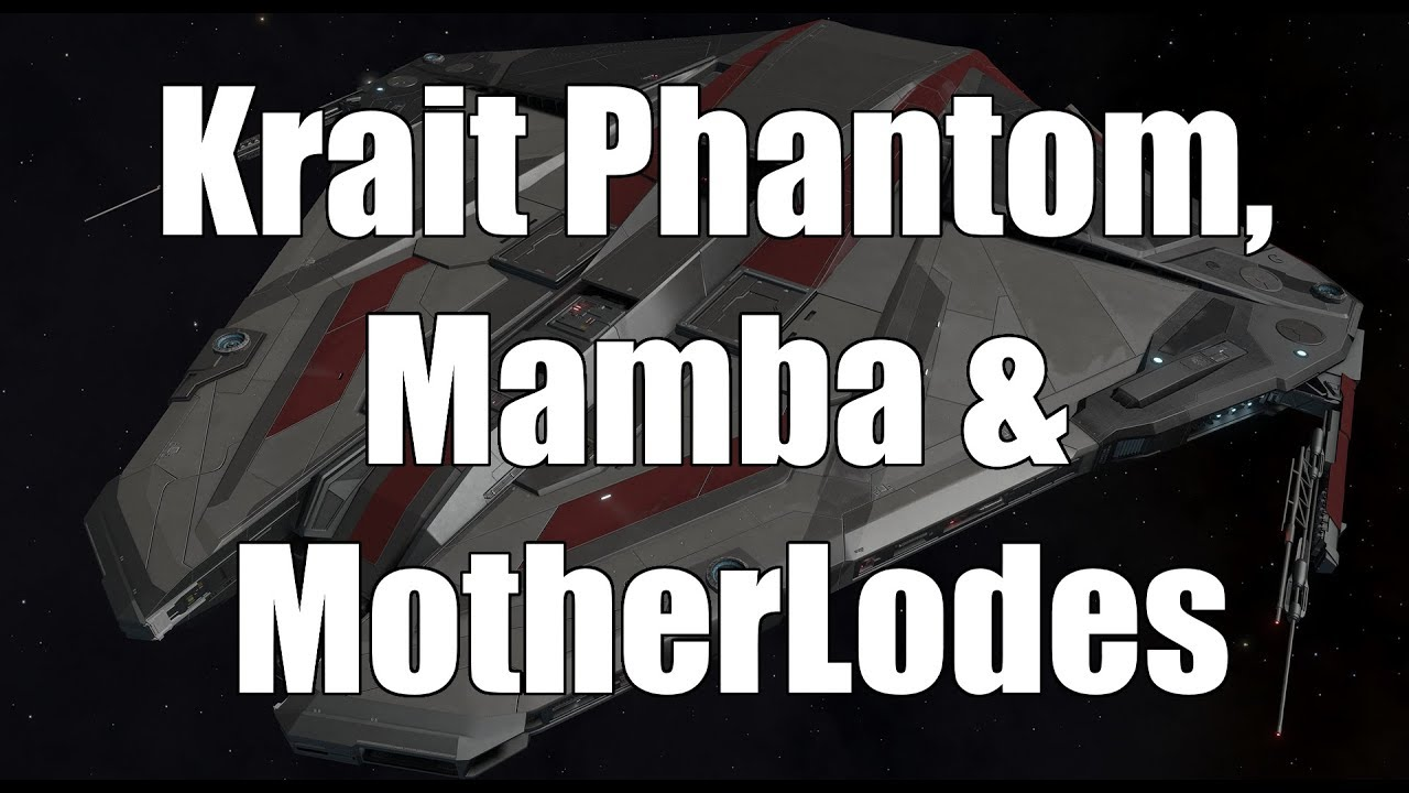 Elite: Dangerous - 3 3 Beta Krait Phantom, Mamba & Motherlodes