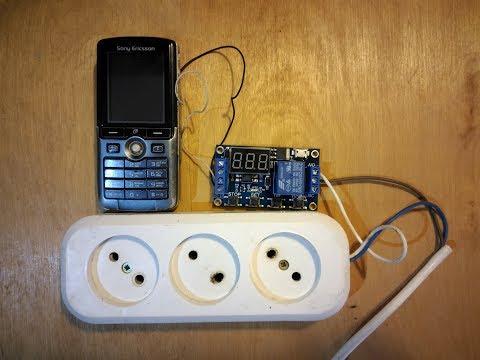 GSM розетка из телефона своими руками
