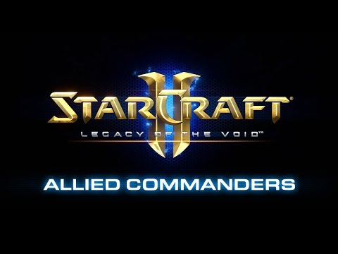 StarCraft II: Legacy of the Void - Allied Commanders Preview