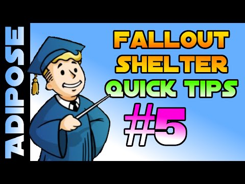 Fallout Shelter Tips! #5 How To Get More Caps