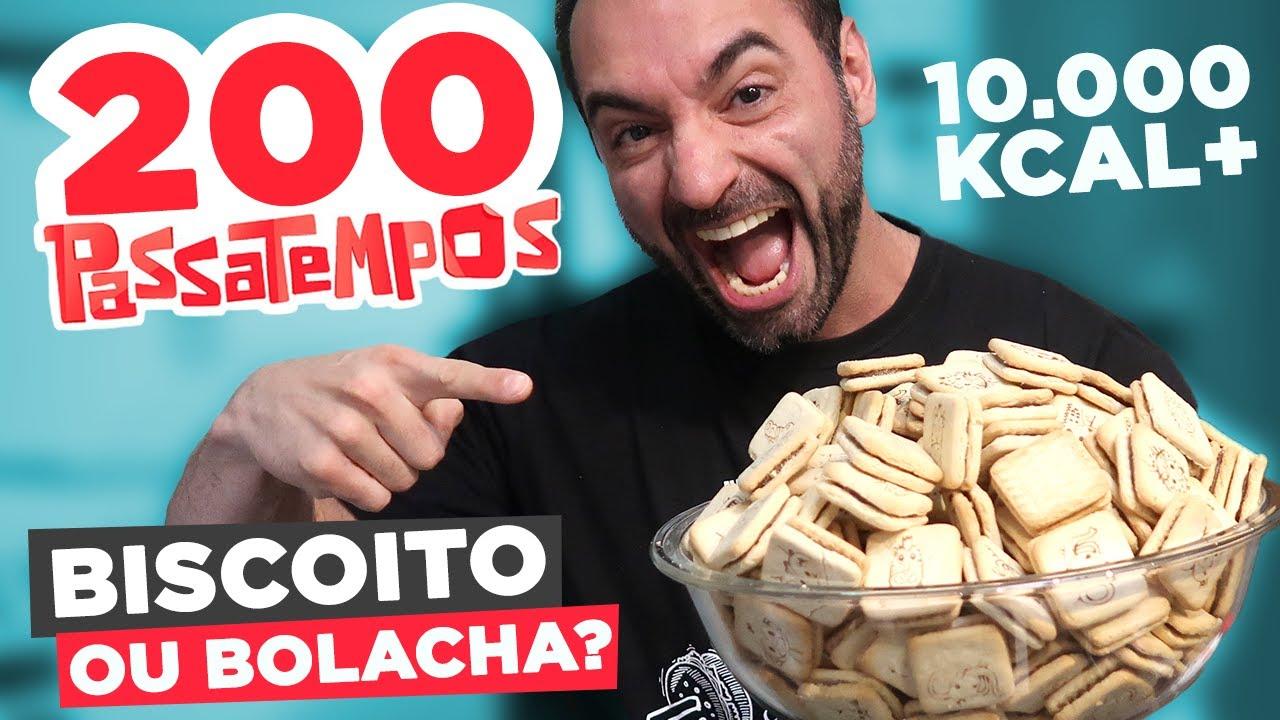 DESAFIO DOS 200 PASSATEMPOS!!! [10.000+ KCAL]