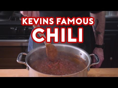 Binging with Babish: Kevins Famous Chili from The Office