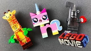 THE LEGO MOVIE 2 Minifigures OPENING with UNIKITTY
