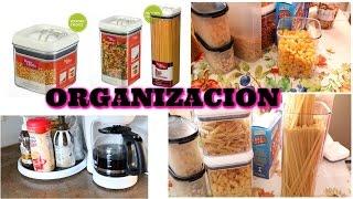 ORGANIZACION Y TIPS DE COCINA/ ORGANIZED  KITCHEN TIPS/HACKS/PANTRY