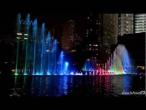 KLCC New Musical Fountain