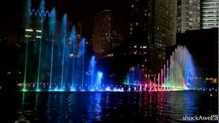 KLCC New Musical Fountain