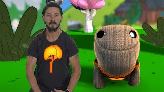 Just Do It - Shia LaBeouf Gives Motivational Speech To OddSock - LittleBigPlanet 3 Animation