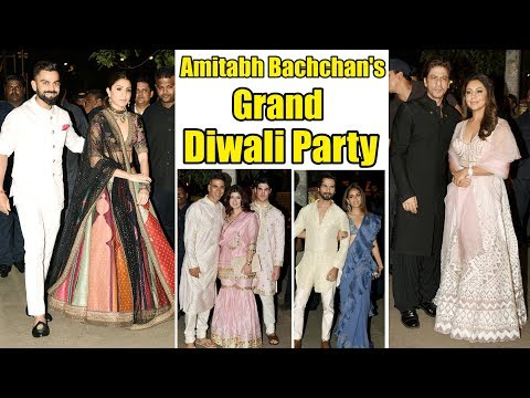 UNCUT - Amitabh Bachchan & Family Host GRAND DIwali PARTY of 2019 | Virat, Akshay, Katrina & Others Mp3