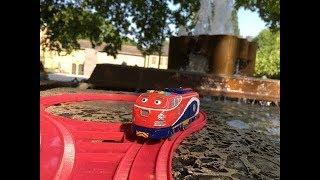 Trem de Brinquedo Tomy Plarail Chuggington Jackman at Domschatzkammer, Burgplatz, Essen 01860  pt