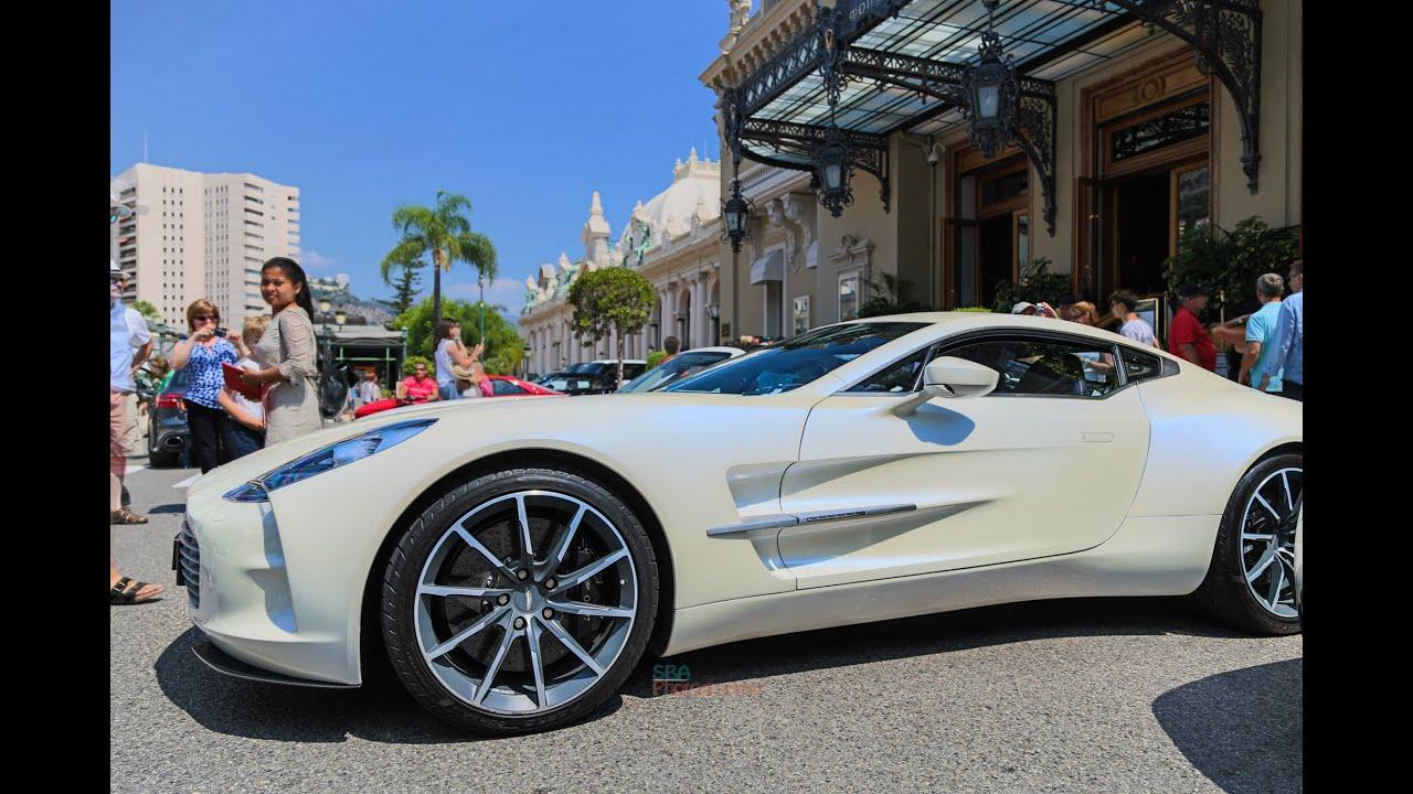 Aston Martin One In Monaco YouTube - Aston martin one77