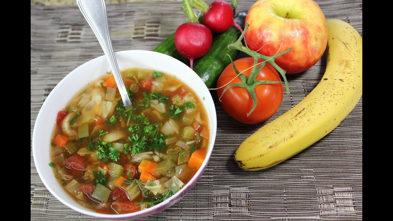 Cabbage Soup Diet Recipe 7 Day Diet Plan Youtube
