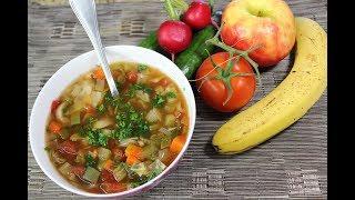 Cabbage Soup Diet Recipe/7 day diet plan.