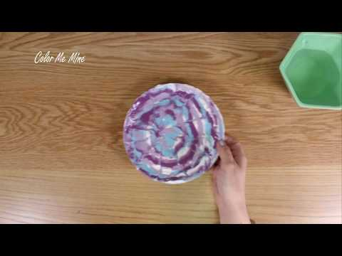 Color Me Mine Shaving Cream Technique