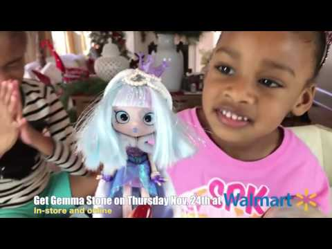 Gemma Stone Shoppies Doll with Shopkins Surprise Blind Bags kids Special Edition Limited