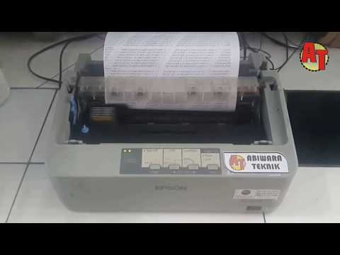 How to self test in Epson lx 310 model