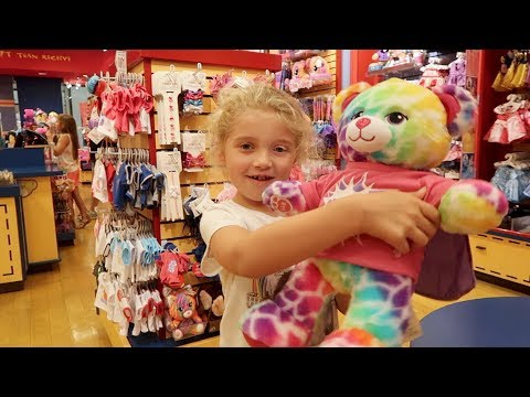 Build a Bear with Maddie