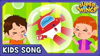 Bubble Pop | Kids Songs | Nursery Rhymes | Super wings song