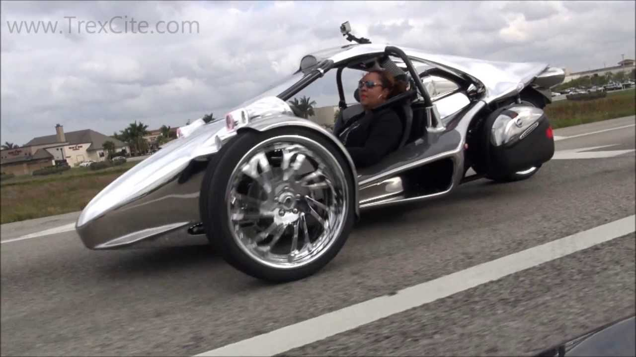 The World's First Chrome Campagna T-rex Test Drive - South ...