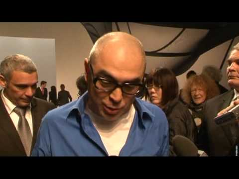 Interview with Dai Fujiwara and Professor William Thurston at the Issey Miyake Fashion Show in Paris