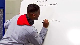 Jameis Winston diagrams plays in 2015 NFL Draft interview simulation