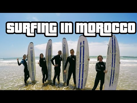Surfing in Morocco 2017 // Travel tips /// guide vlog diary GoPro