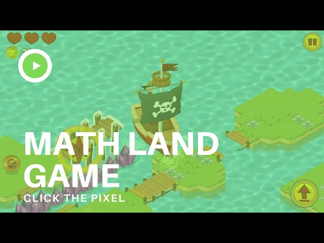 This is entertainment. Math Land Game. Un juego de Didactoons