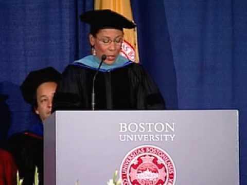 Joan Wallace-Benjamin, School of Social Work 2007 Commencement Speaker